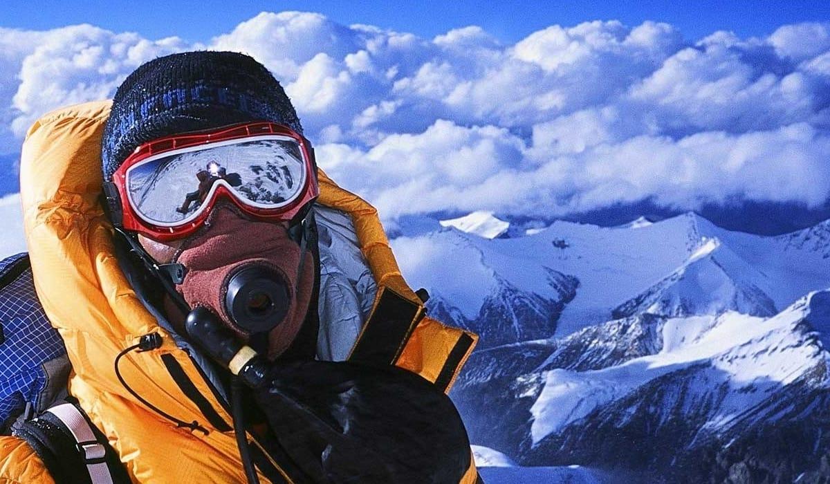 Eyes At Altitude on Mount Everest