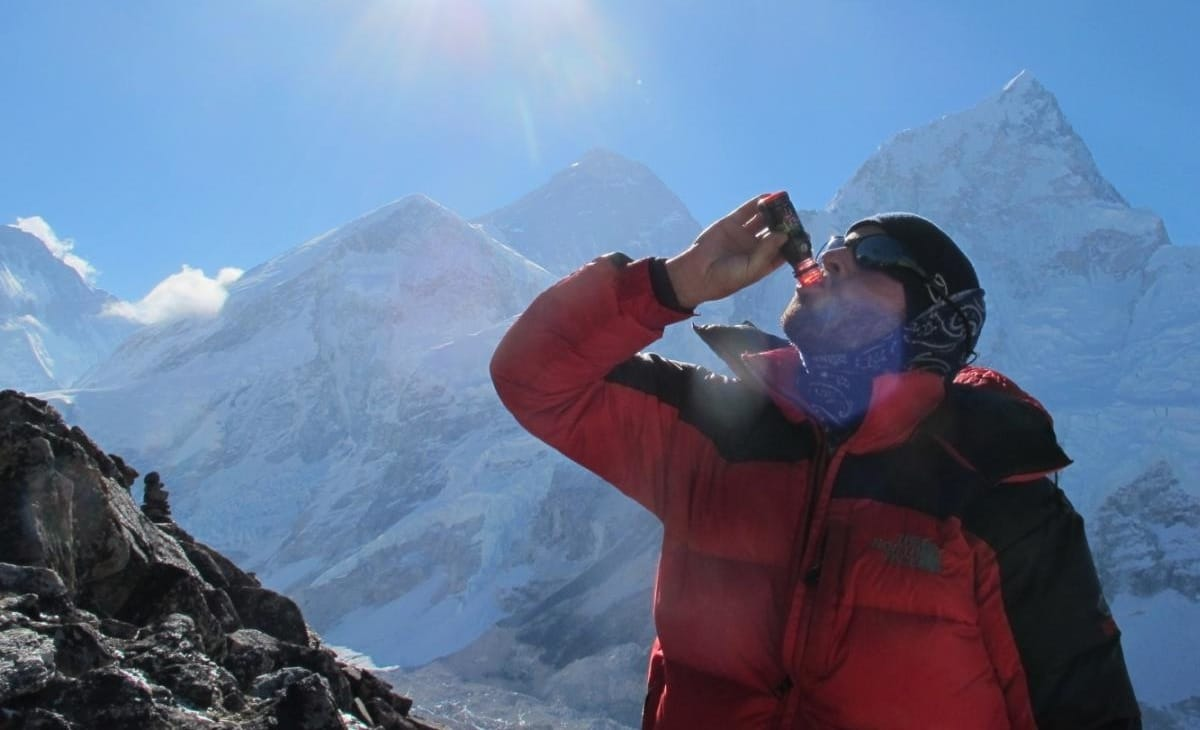 Hydration on Mount Everest