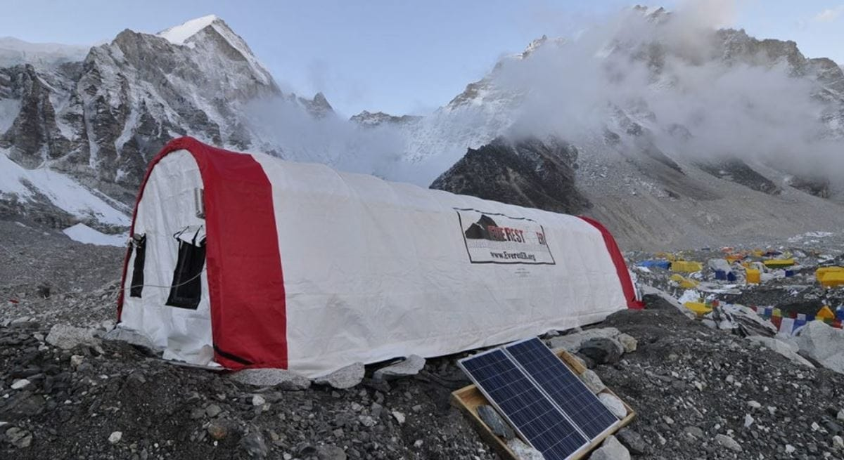 Immunizations on Mount Everest