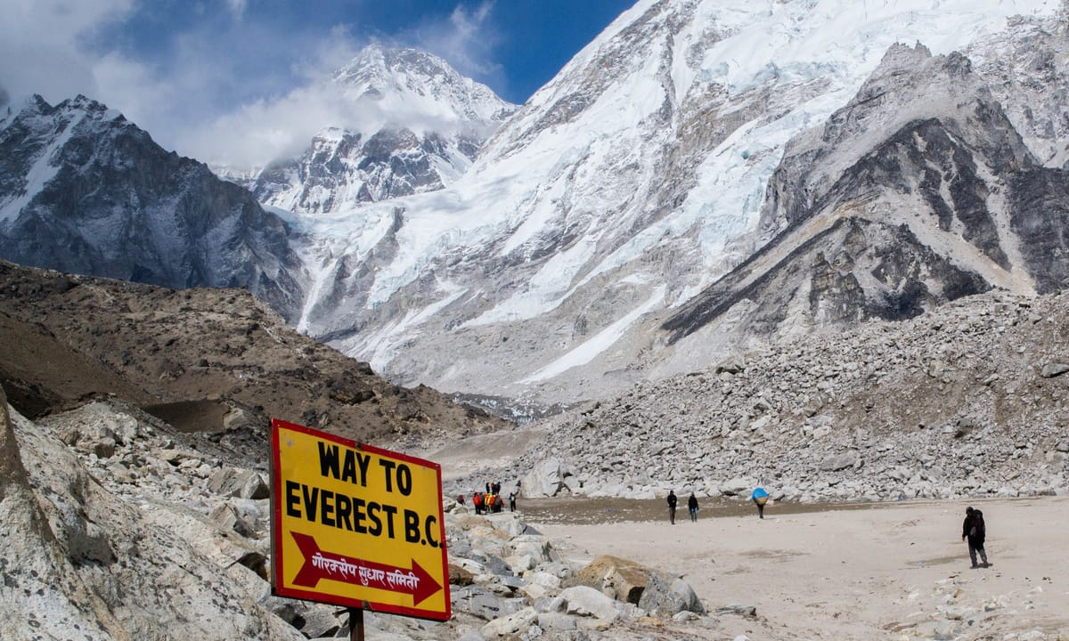 Come Along to Mt Everest - This Way