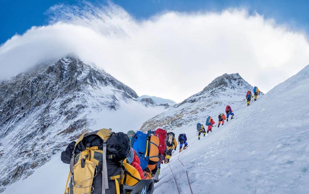 Climbing The Everest